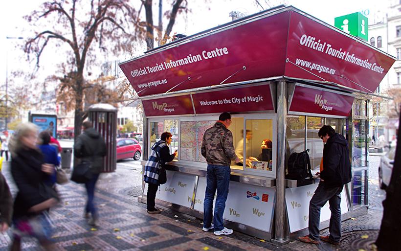 Туристический информационный центр в Праге