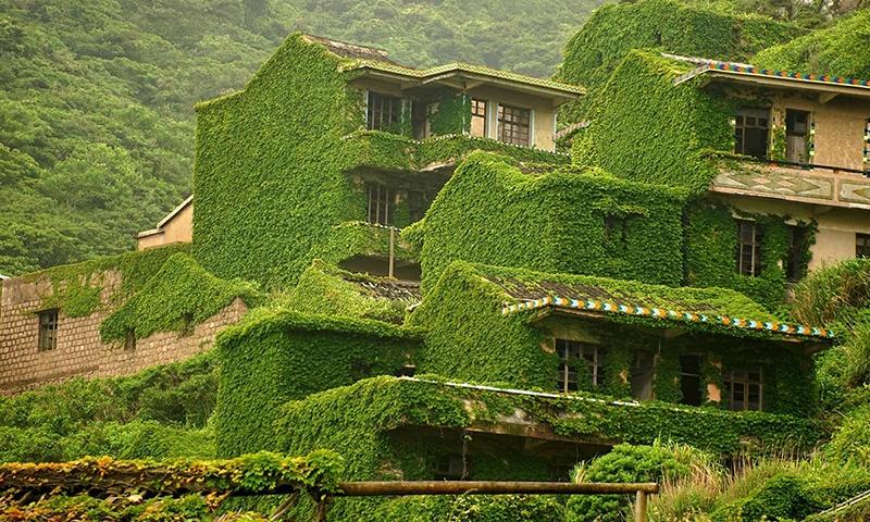 Необычная деревня Хоутоу Ван