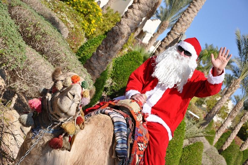 Рождество в Шарм-эль-Шейхе