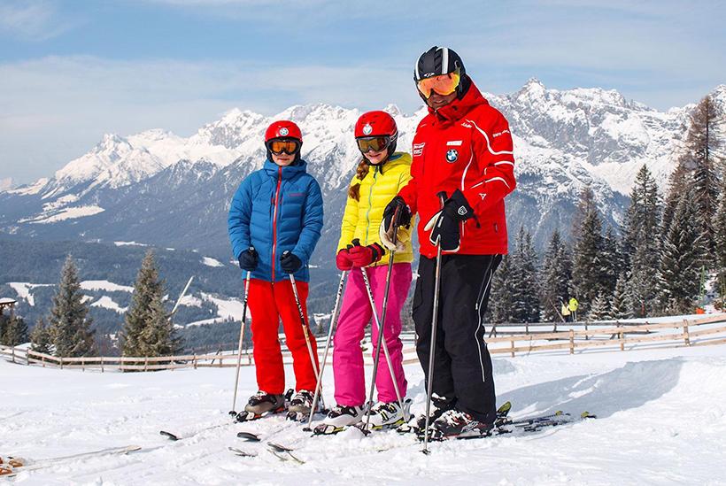 Лыжная школа в Зеефельде