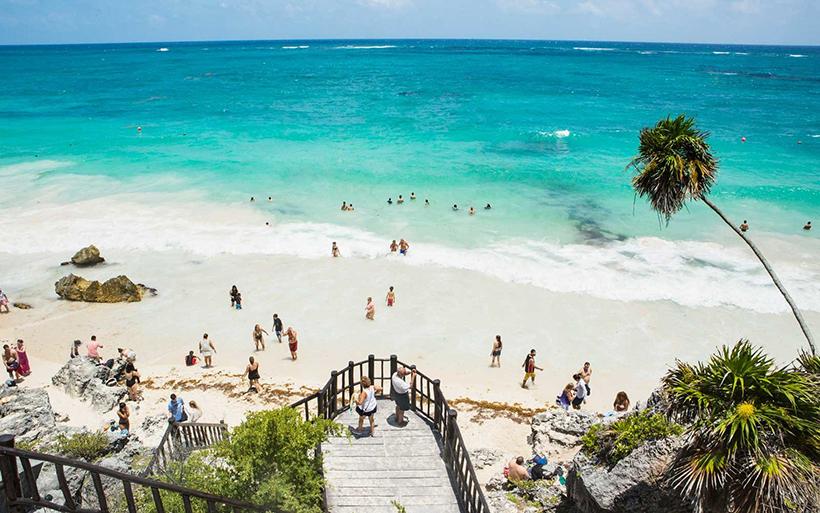 Пляж Мексики