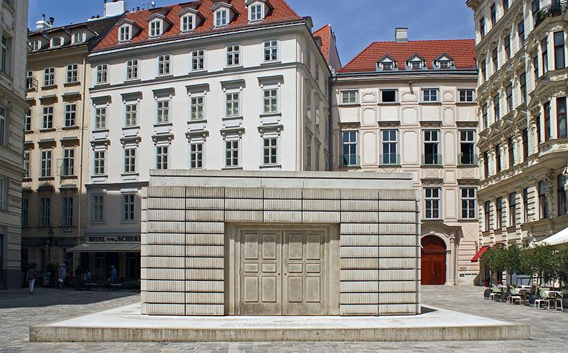 Памятник жертвам Холокоста в Вене