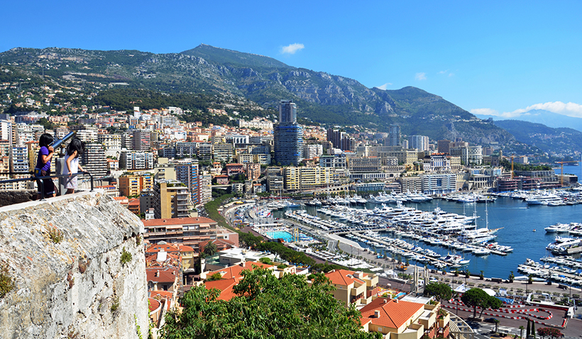 Смотровая площадка в Монте-Карло, Монако