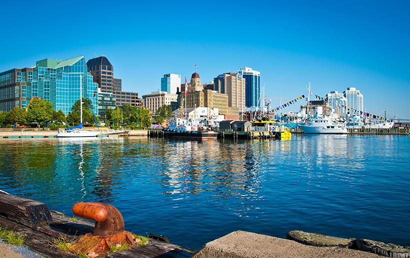 Порт Галифакса, Канада