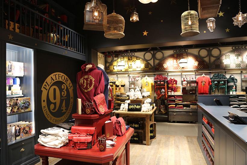 Магазин The Harry Potter Shop at Platform 9 3/4