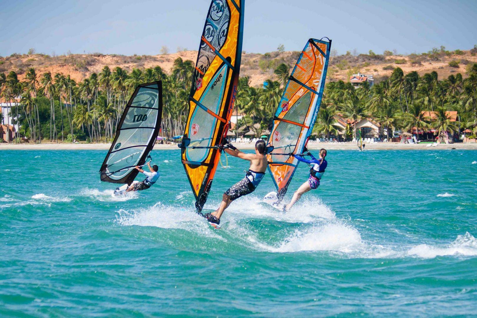 Водные виды спорта в Муйне