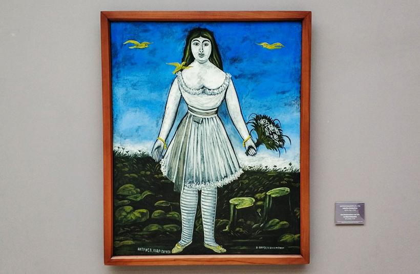 «Актриса Маргарита», Пиросмани