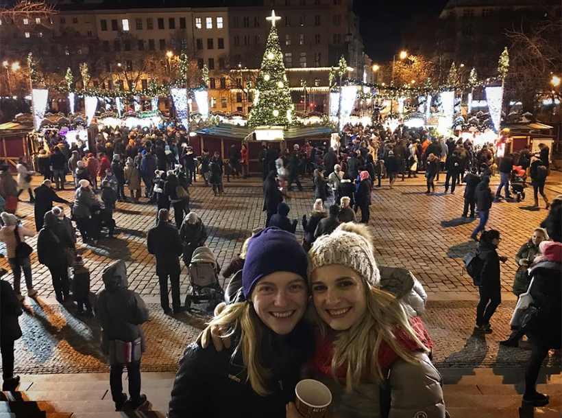 Рождество на площади Мира