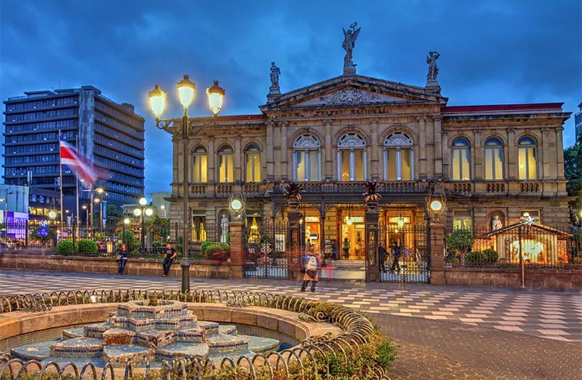 Национальный театр в Сан-Хосе, Коста-Рика