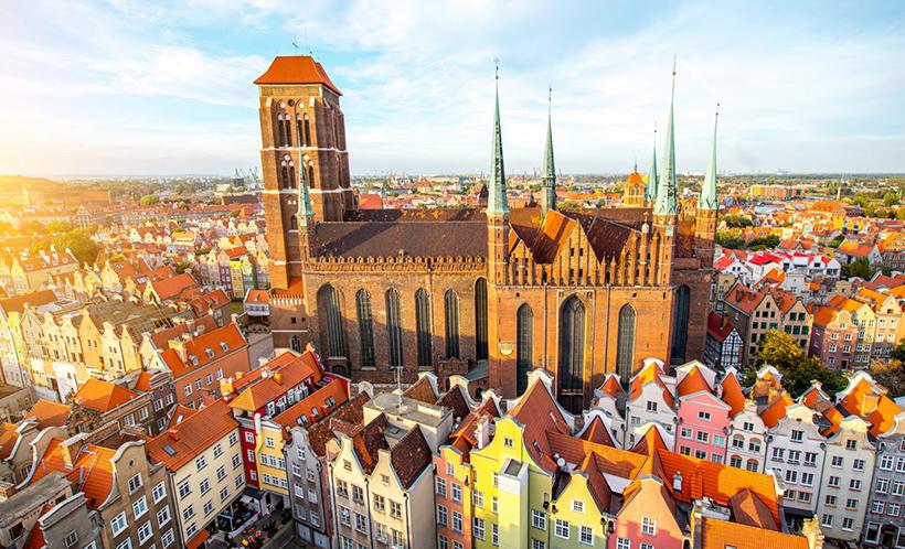 Костел Святой Девы Марии в Гданьске, Польша