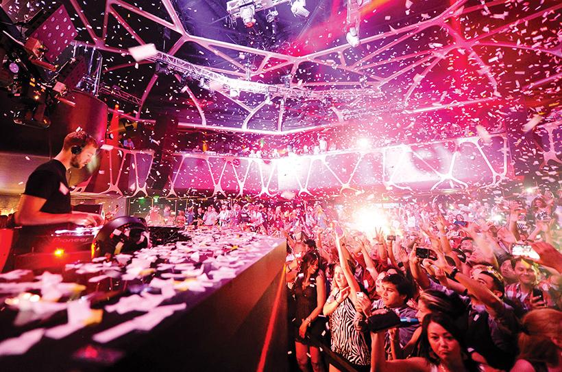 Новогодняя вечеринка в Лас-Вегасе