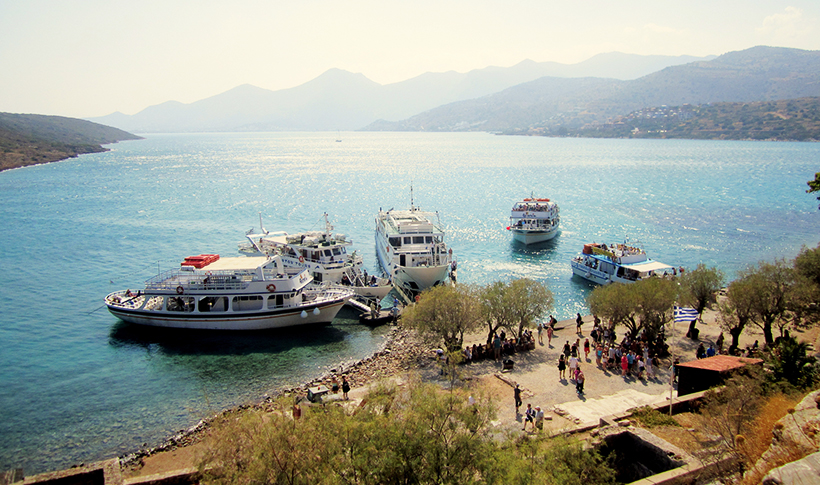 Транспорт до острова Спиналонга