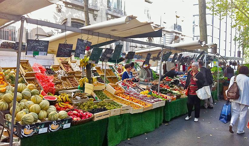 Le Marché Raspail, Париж
