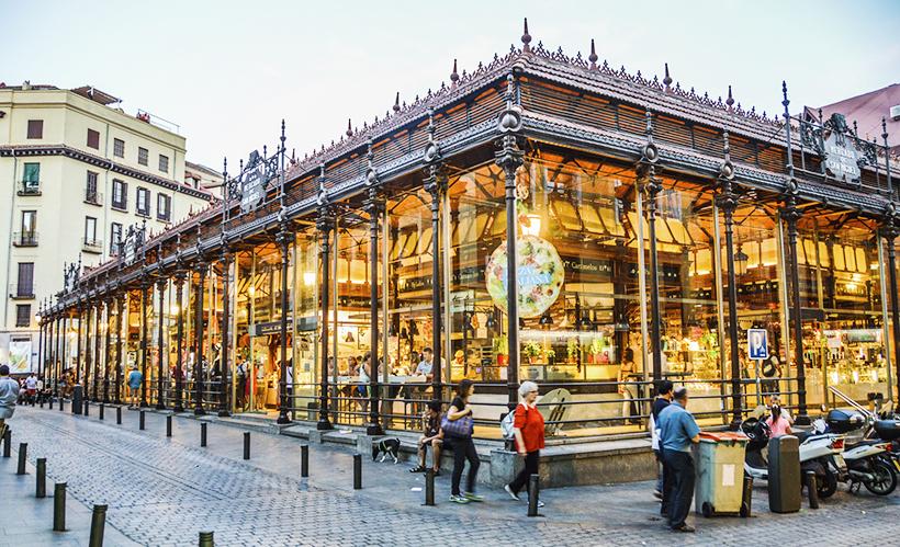 Mercado de San Miguel, Мадрид