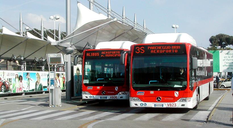 Автобус alibus из/в аэропорт в Неаполе