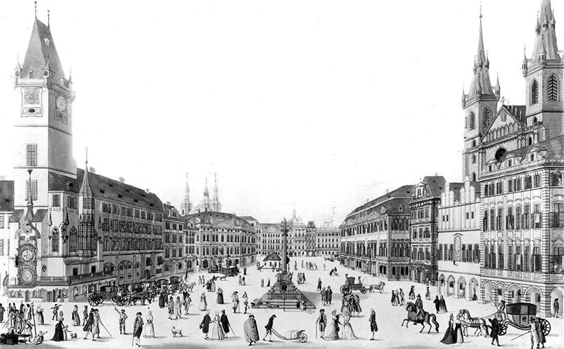 Староместская площадь Праги