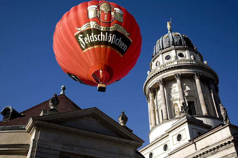 Полет на воздушном шаре над Берлином