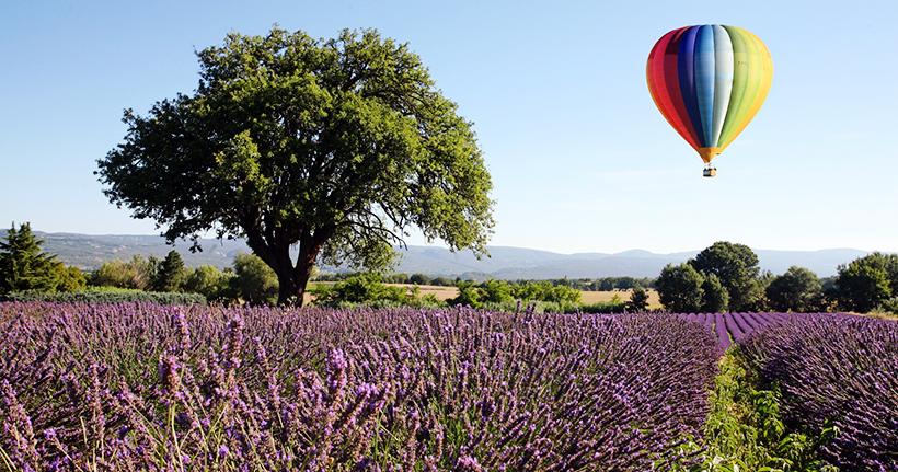 Полет на воздушном шаре над Провансом