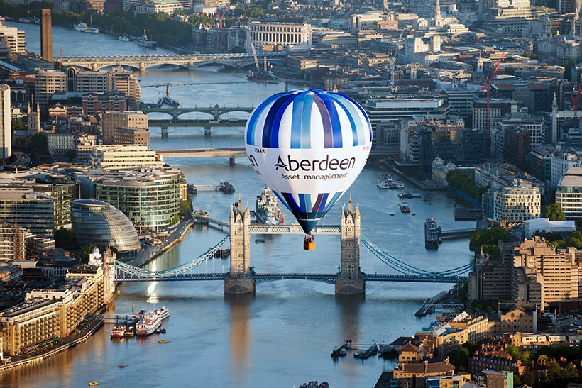 Полет на воздушном шаре над Лондоном