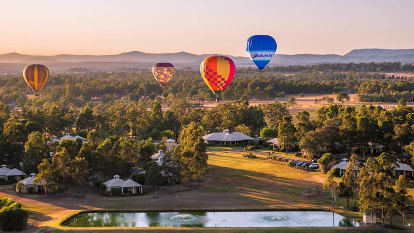 Полет на воздушном шаре над долиной Хантер