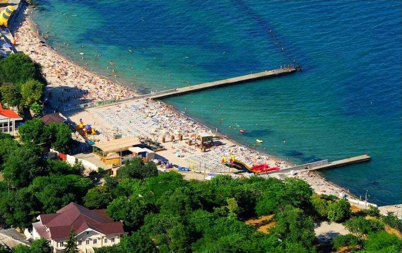 пляж Дельфин Одесса