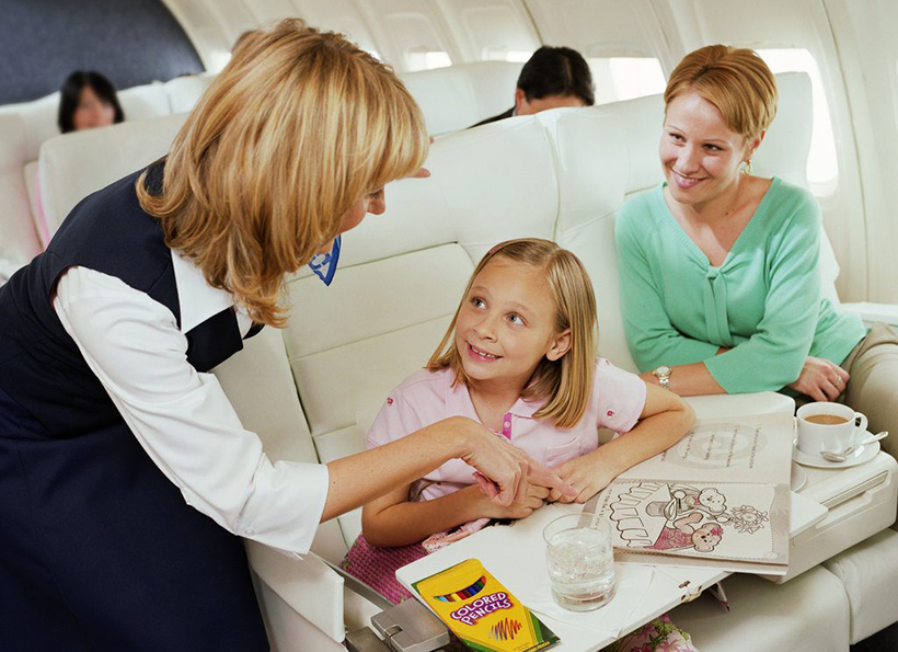 авиапутешествие с детьми