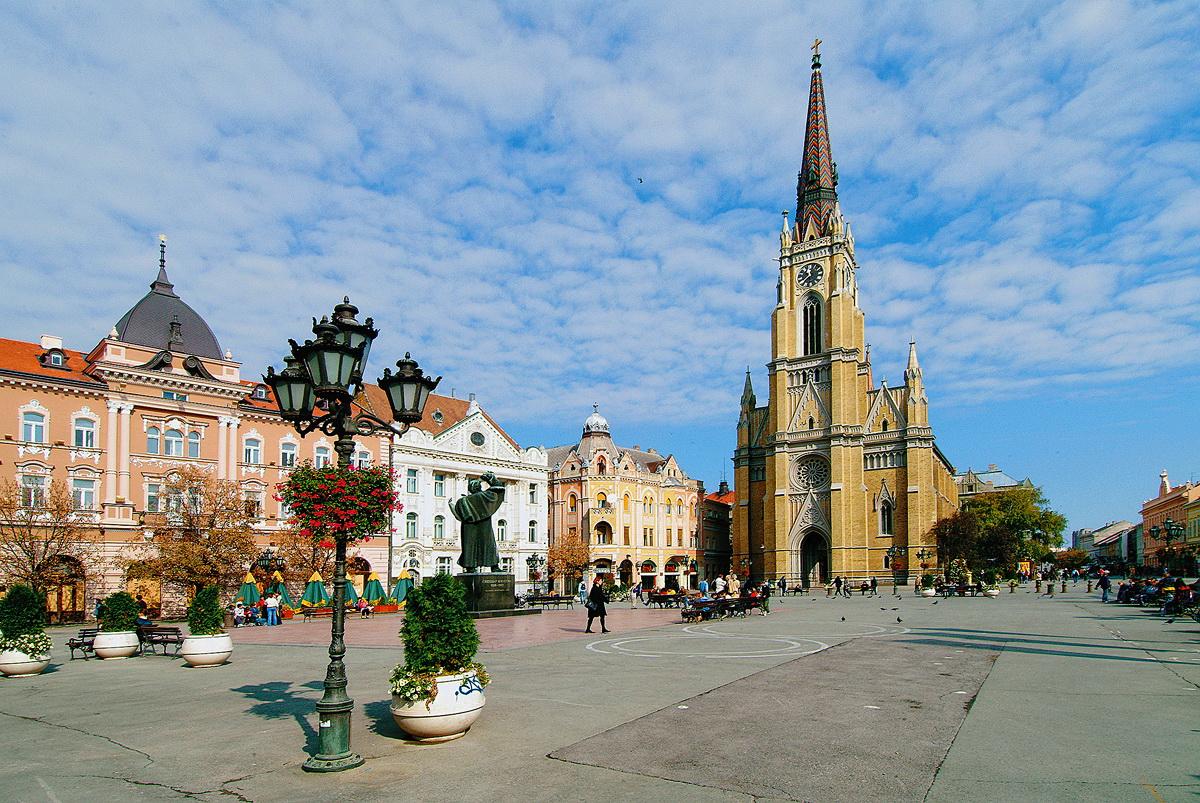 Церковь Девы Марии в Нови-Сад