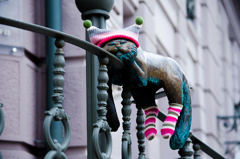 коты в Одессе «Город скульптур»