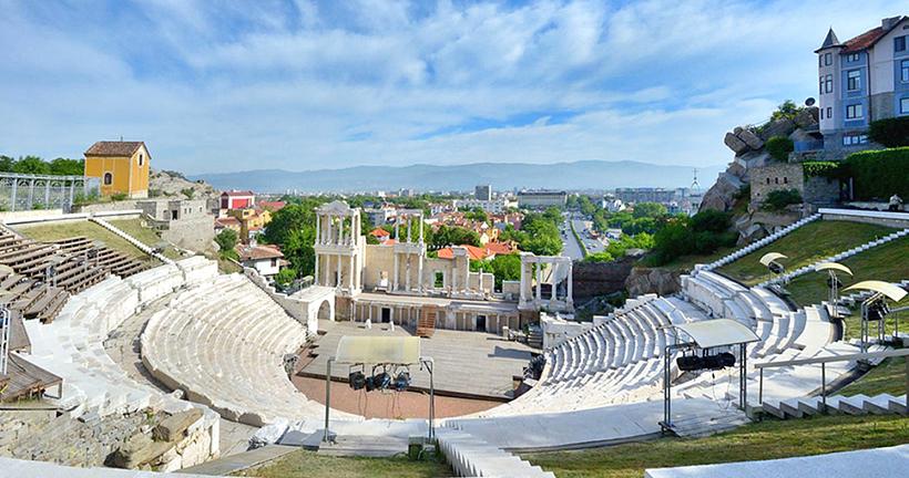 Римський амфітеатр в Пловдиві