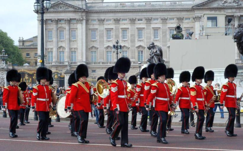 Королевская гвардия, Лондон