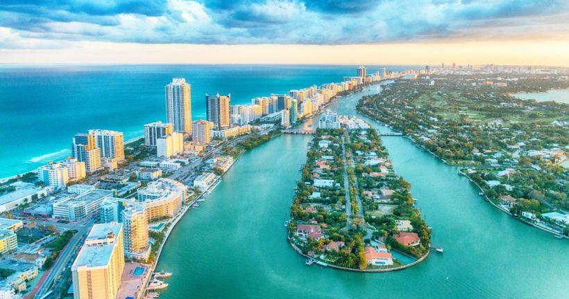 Город Майями в США