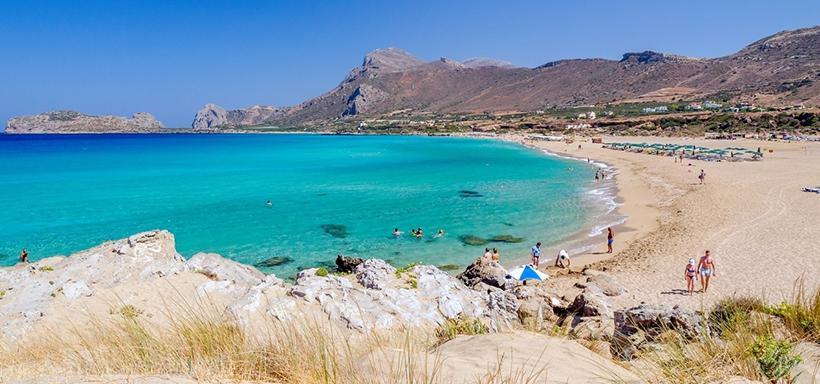 Фаласарна, Крит