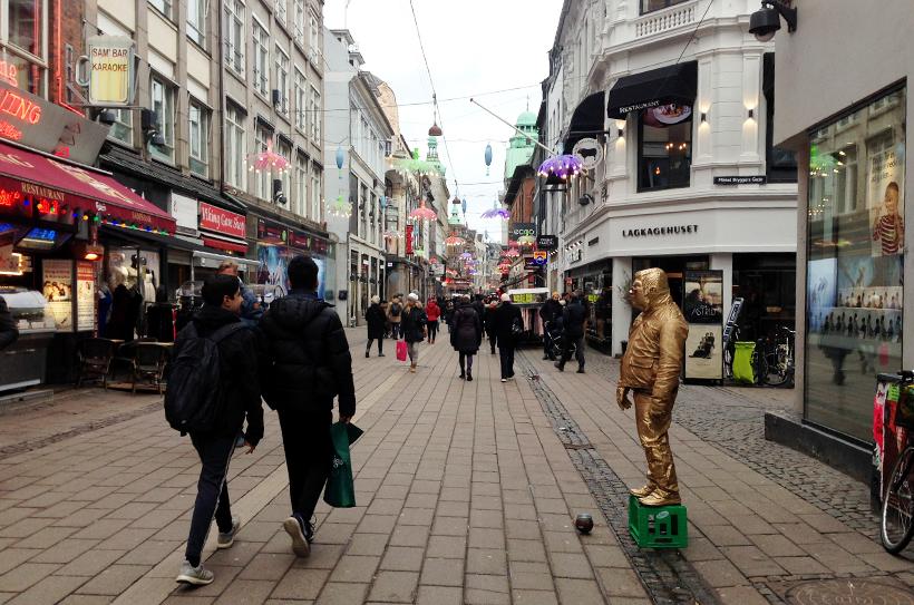 Улица Strøget