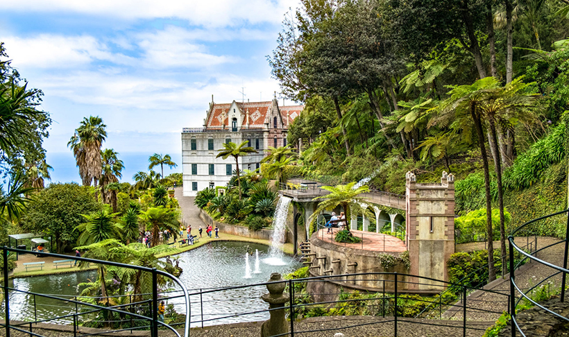 Тропический сад и музей дворца Монте