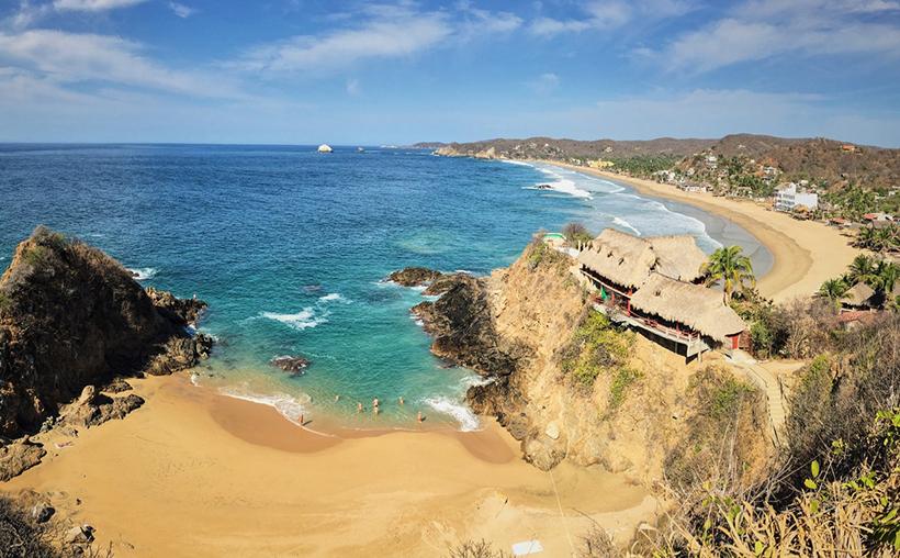 Пляж Зиполите, Мексика