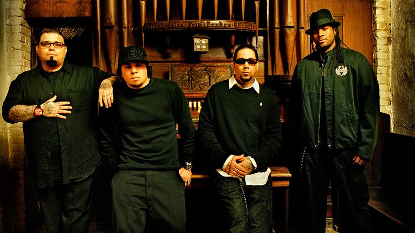 американская рок-группа P.O.D.