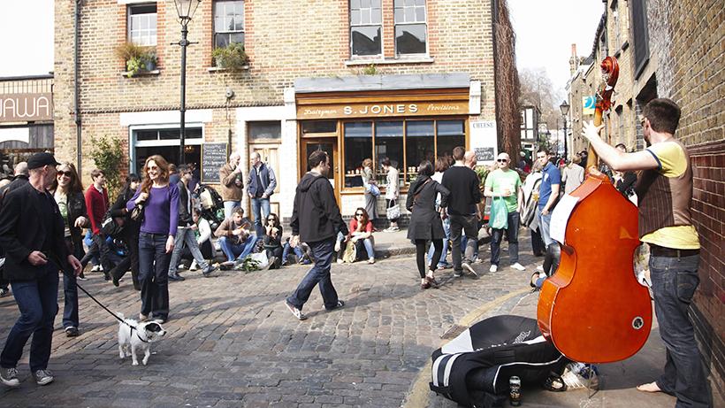 Уличные музыканты Лондона