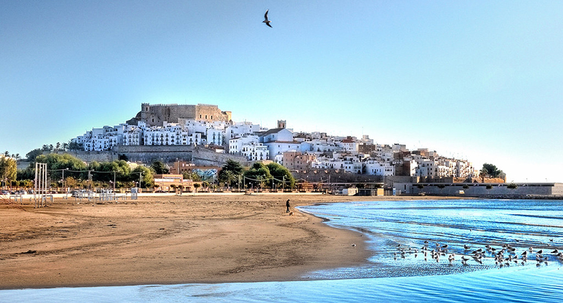 Замок Пеньискола, Испания