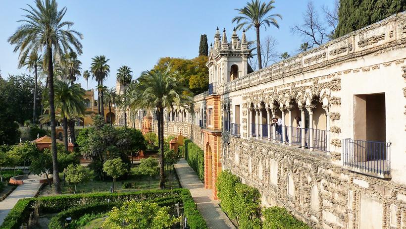 Замок Алькасар, Испания