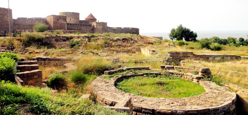 Развалины Тиры рядом с Аккерманской крепостью