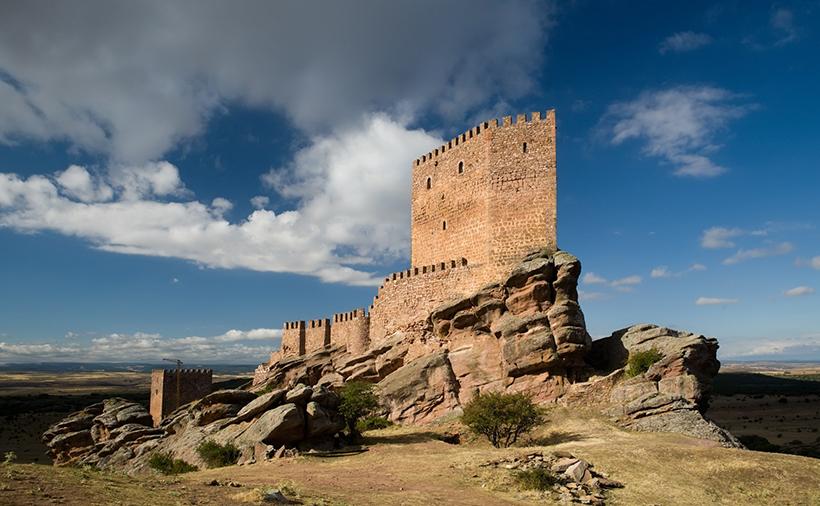 Замок Сафра, Испания