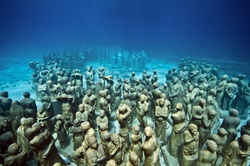 Молчаливая эволюция. Подводный музей в Канкуне
