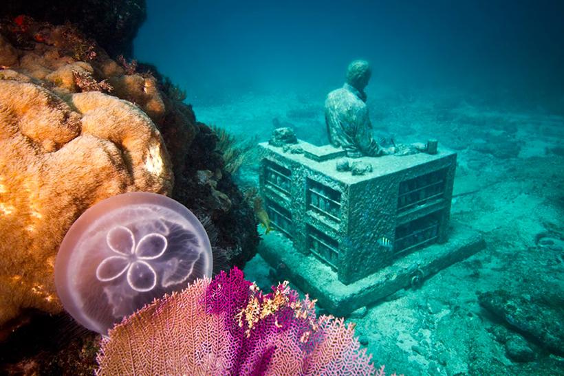 Коллекционер потерянных надежд. Подводный музей в Канкуне