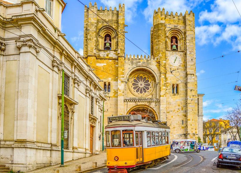 Кафедральный собор Лиссабона Cэ