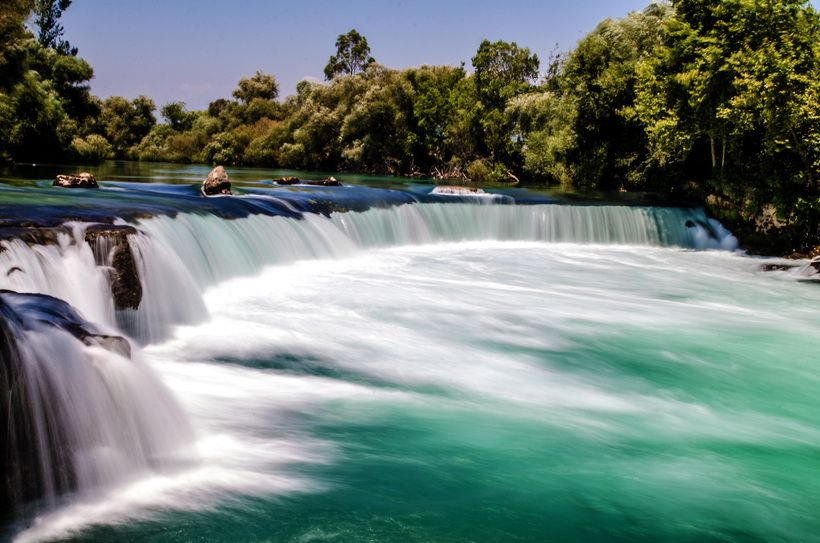 Водопад и река Манавгат