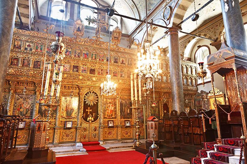 Убранство церкви Святого Георгия