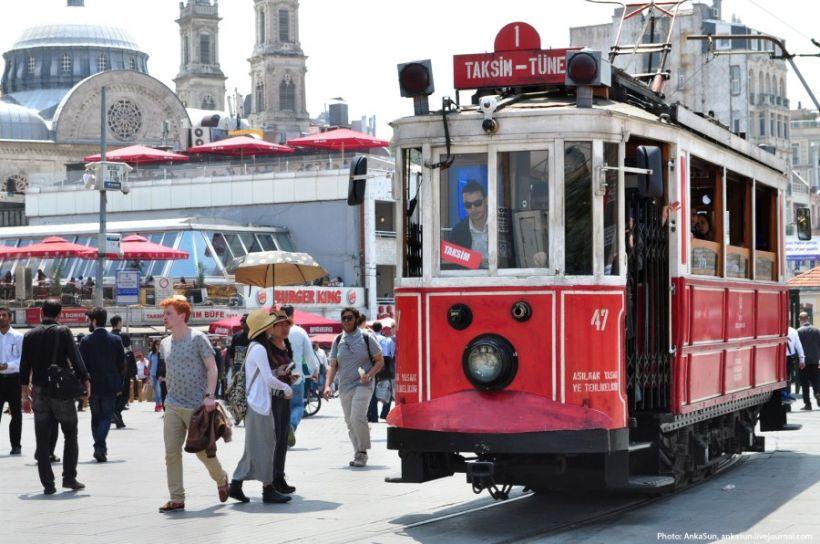 улица Истикляль Стамбул