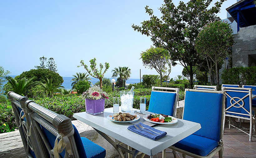 Ресторан в отеле Amilia Mare Beach Resort