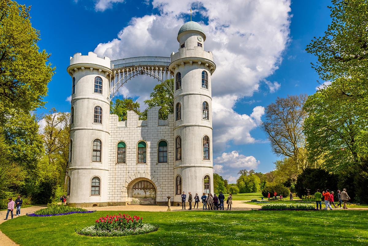 Замок на Павлиньем острове