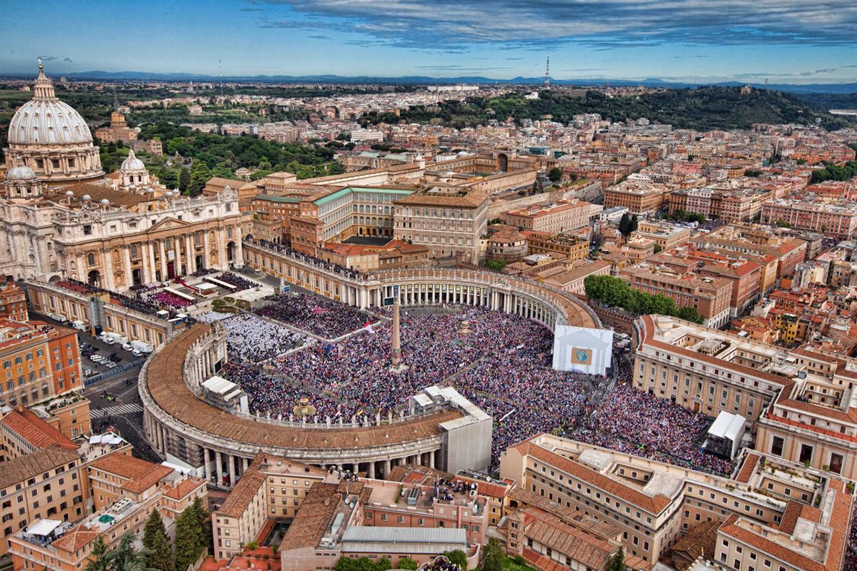 Площадь и собор Святого Петра